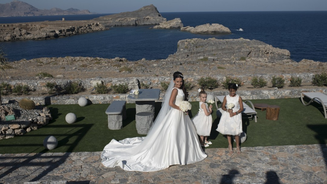 Lindos Vigli Private Villa weddings and events 1 photo