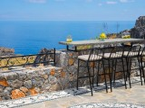 Lindos Vigli Private Villa barstool seating