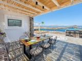 Lindos Vigli Private Villa outdoor dining table