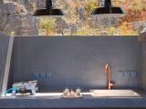 Lindos Vigli Private Villa outdoor kitchen